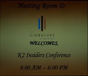 K2 Insider Conference